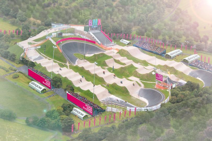 An artist's impression of the track (Photo: Glasgow City Council)