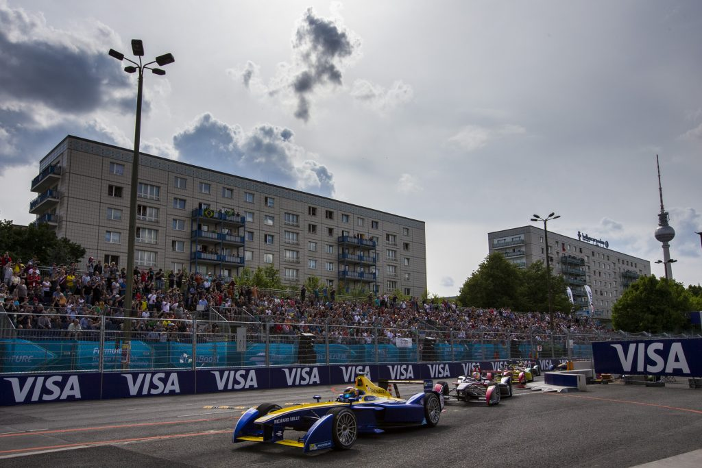 2015/2016 FIA Formula E Championship. Berlin ePrix, Berlin, Germany. Saturday 21 May 2016. Photo: Zak Mauger/LAT/Formula E ref: Digital Image _79P2959