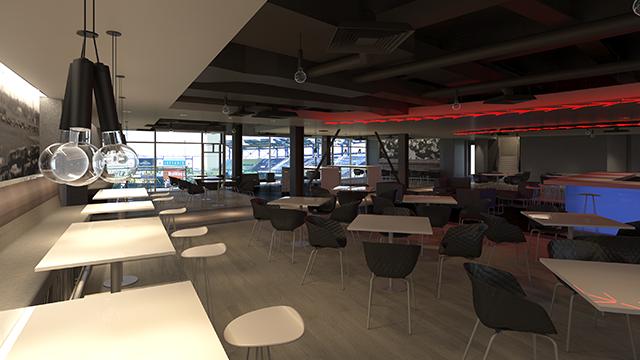 Club renovation renderings. Courtesy: OKC Dodgers