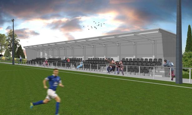 Caerau Ely Afc Unveils Plans For New Stand Clubhouse And
