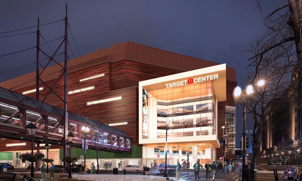 The new & improved Target Center