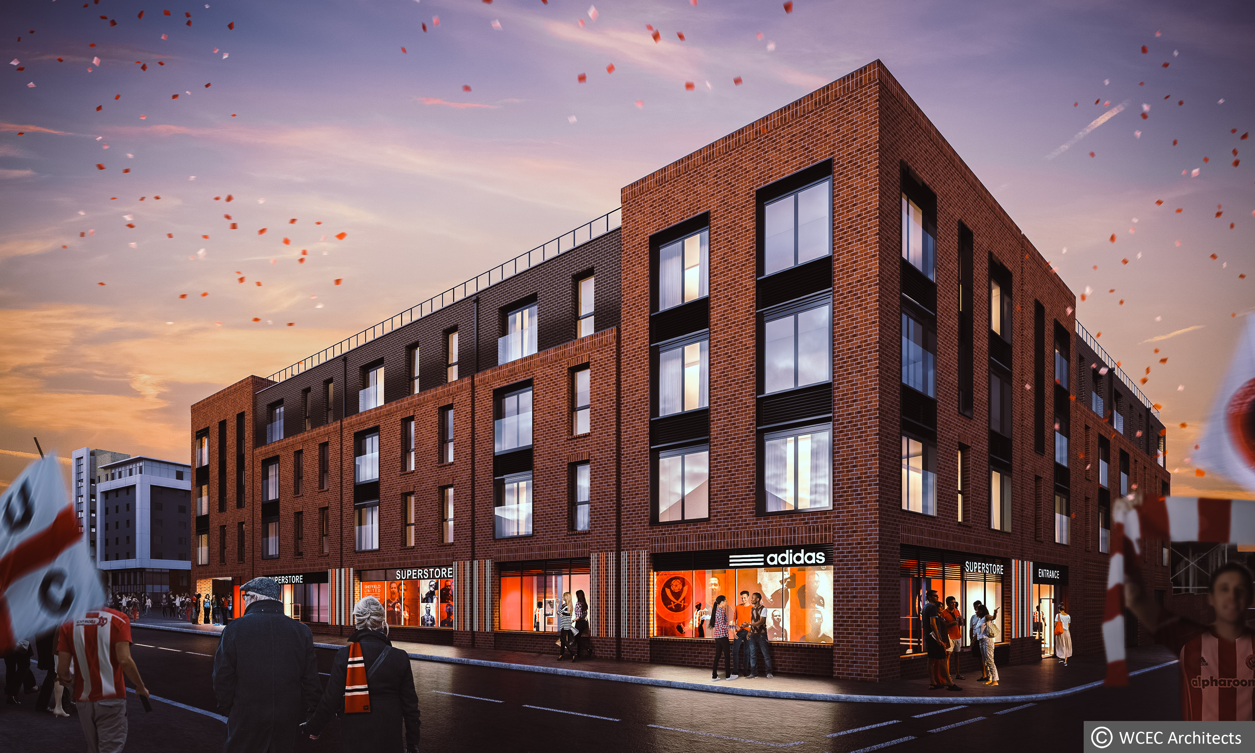 Sheffield United unveils plans to develop renowned Bramall Lane