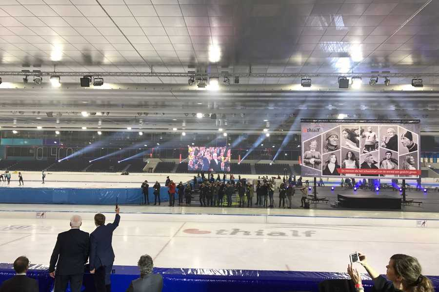 ICE PALACE: New-look Thialf Ice Arena