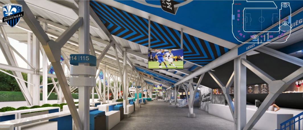 Significant Improvements Made To Montreal Impacts Stade Saputo
