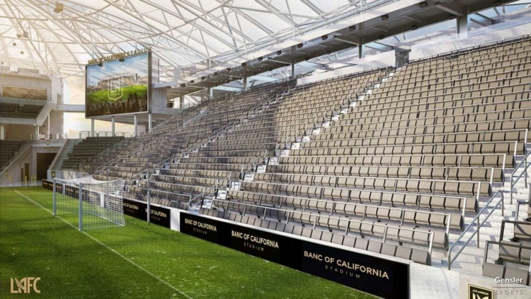 LAFC to elevate matchday experience with Safe Standing section at new Banc of California Stadium ...