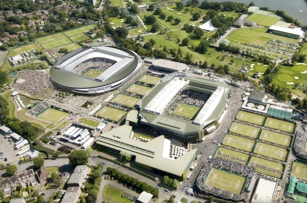Scx Sticks To The Game Plan For Wimbledon No 1 Court