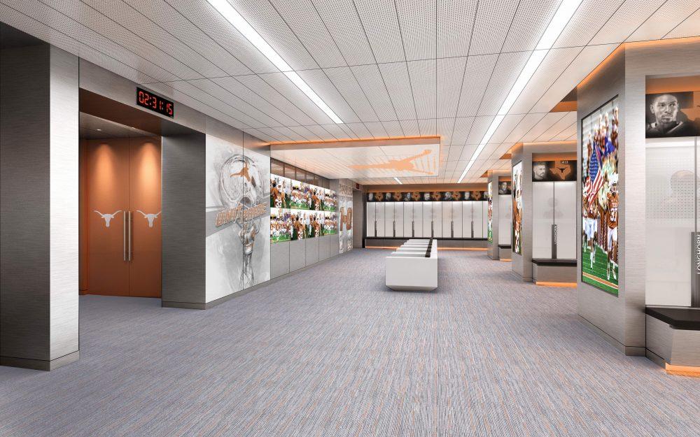 University Of Texas Football Unveils Sleek Design For