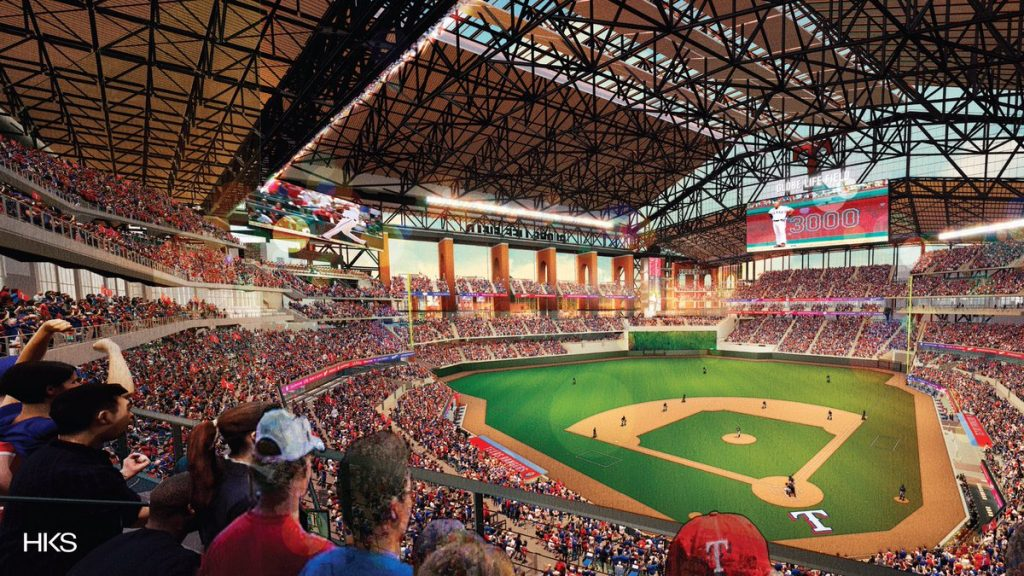 Rangers Unveil Renderings Of New Globe Life Field Ahead Of