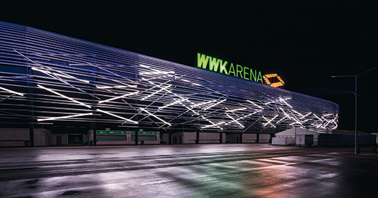 Wwk Arena Finally Gets A New And Impressive Fa 231 Ade