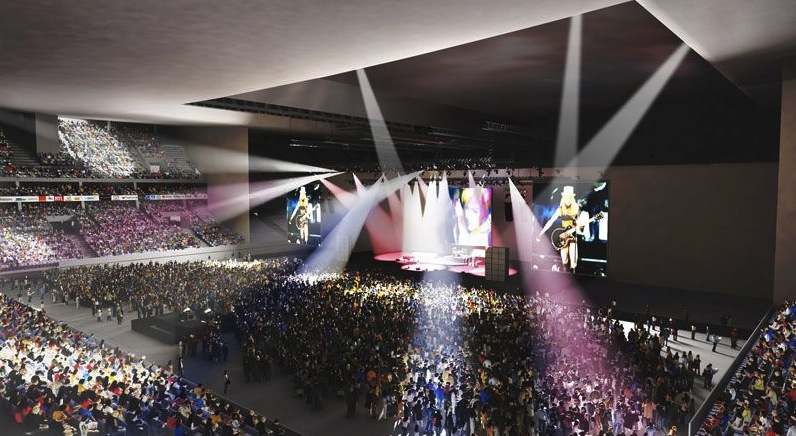 salle concert nanterre u arena