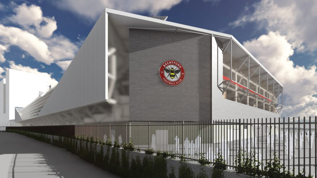 Brentford Fc Marks New Stadium Ground Breaking Sports