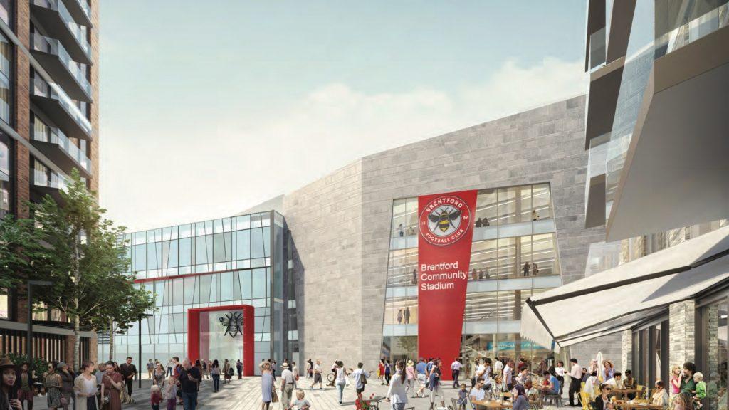 Mercedes South Atlanta >> Brentford FC marks new stadium ground-breaking - Sports ...