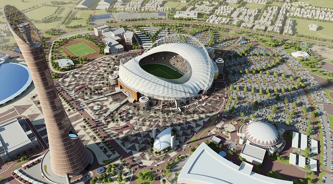 Innovative Roof At Khalifa International Stadium Nears