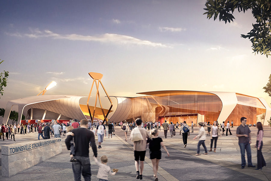 First contracts for North Queensland Stadium on schedule ...