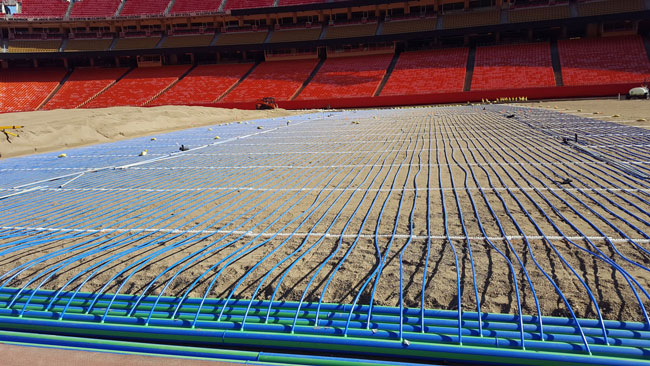 Chiefs New Undersoil Heating System Paying Dividends