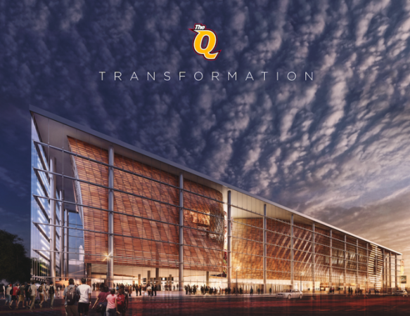 Cleveland Cavaliers Plan Us 140m Renovation Of Quicken