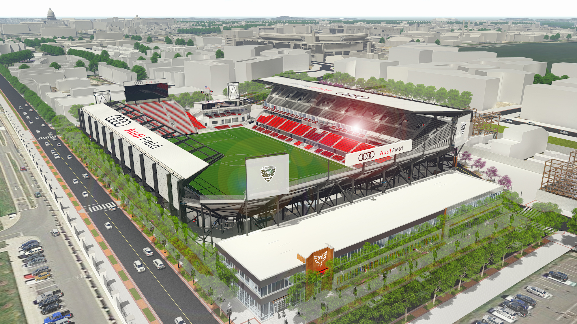 D C United S Plans For New Stadium Finally Given The Go