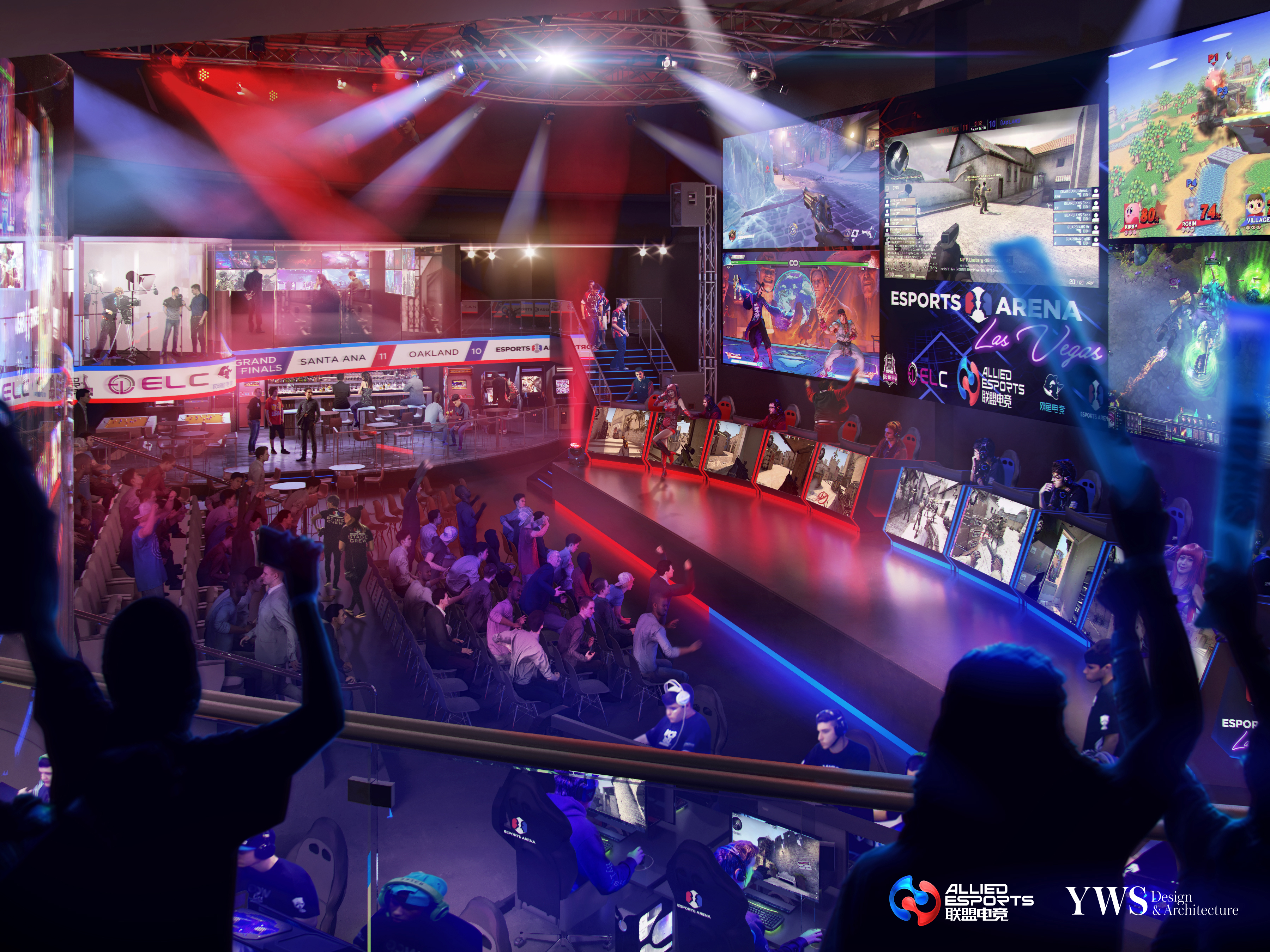 Allied Esports Amp Esports Arena Partner With Mgm Resorts