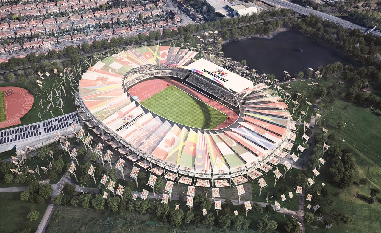 New Cgi Images Of Rejuvenated Alexander Stadium For