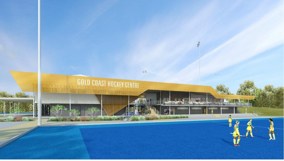 A$16.5m GC2018 hockey venue redevelopment complete