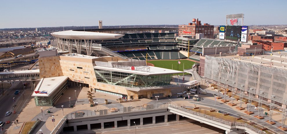 Target Field Achieves Leed Gold Certification Sports