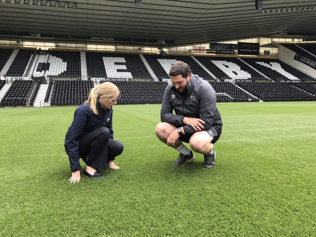Pitch Perfection At Pride Park Paves Way For More Games