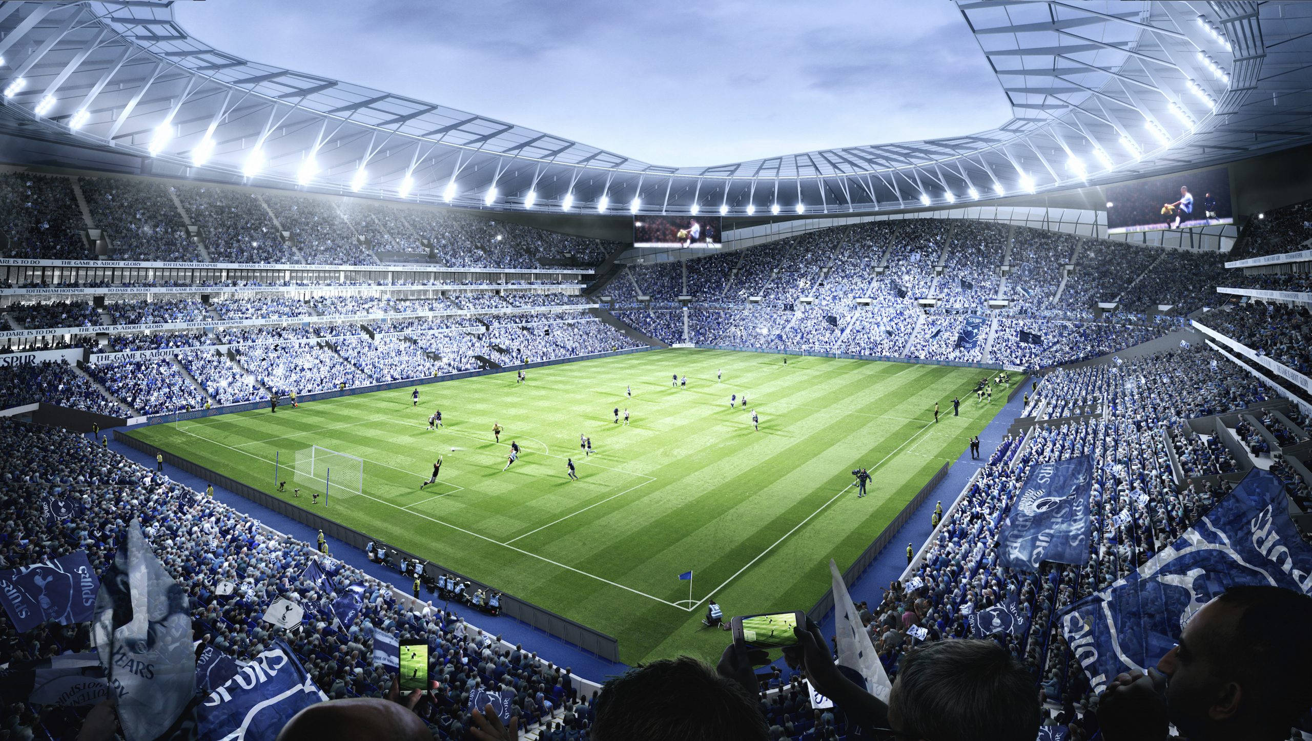 Tottenham Hotspur S New Stadium To Sport The World S First Dividing Retractable Pitch Sports Venue Business Svb