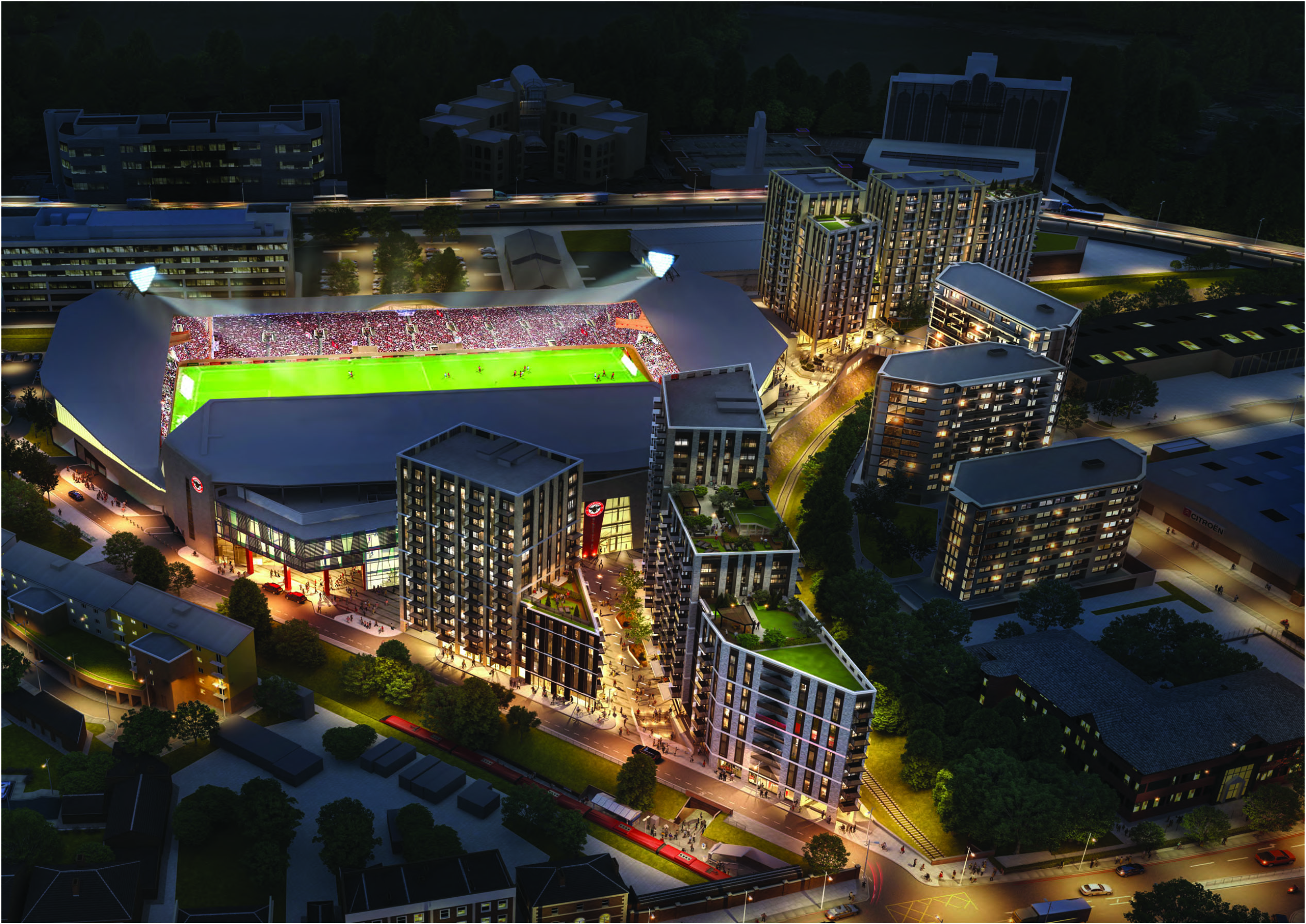 Approval Given For Brentford Community Stadium Final