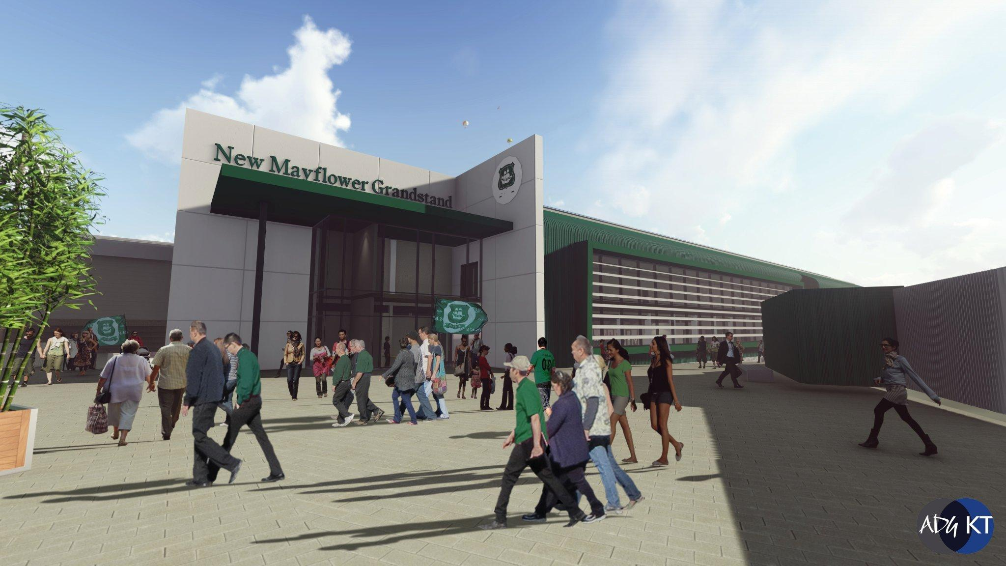 New Exhibition Stand Technology : Plymouth argyle home park development gets the green light