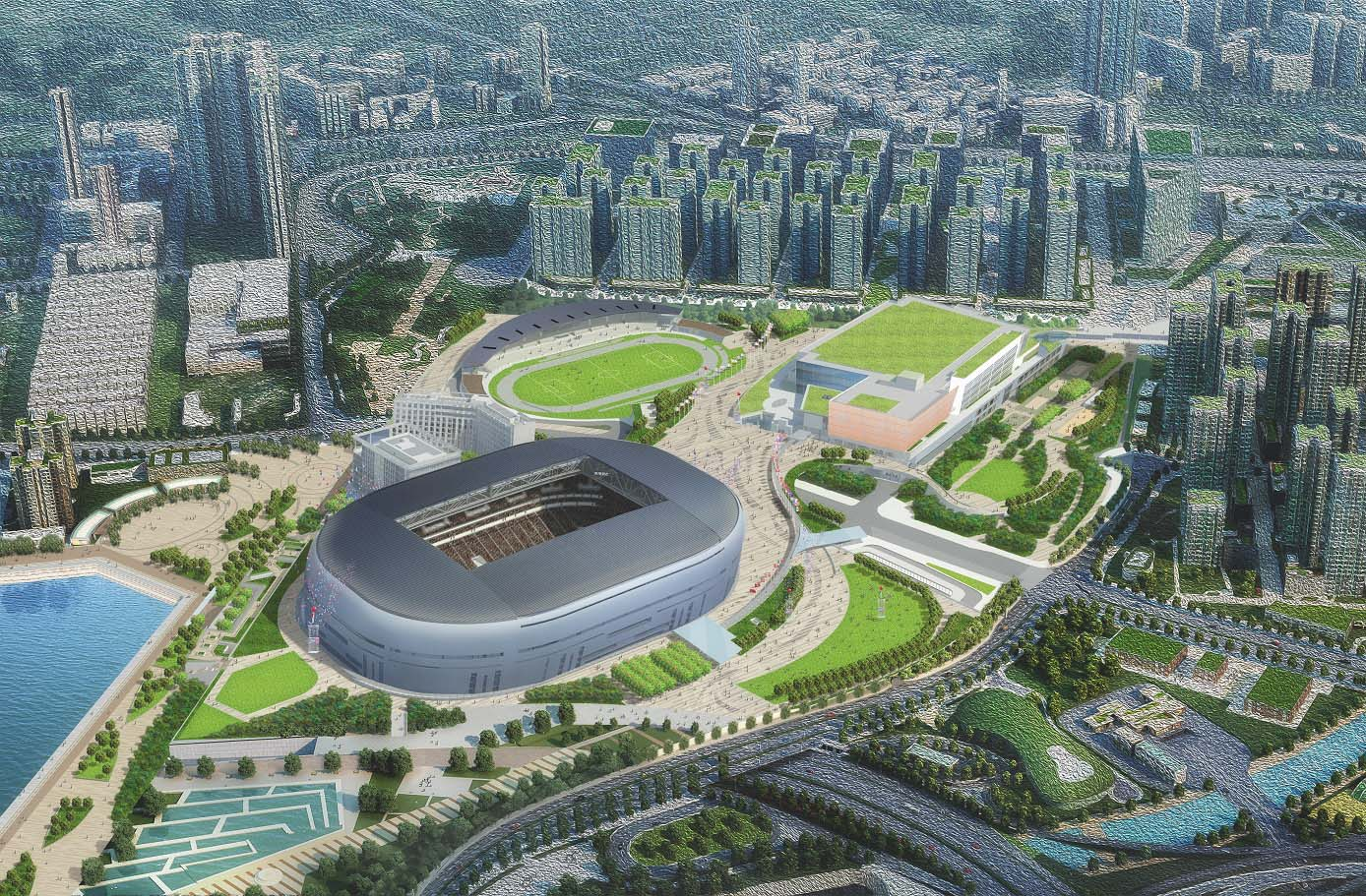Tender documents for Kai Tak Sports Park project released