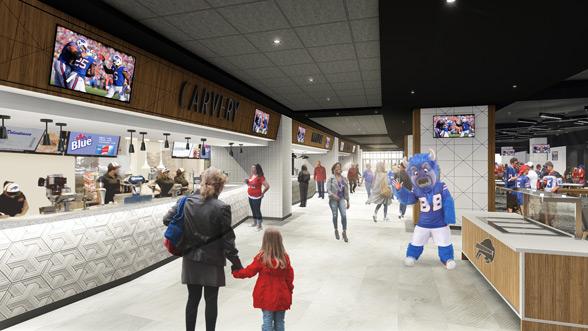 Buffalo Bills To Renovate New Era Field Premium Areas