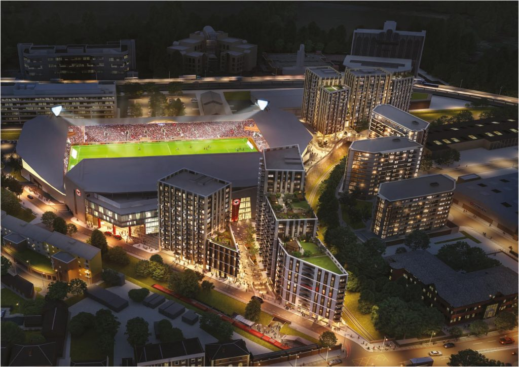 Updated Planning Permission Issued For Brentford Fc S New