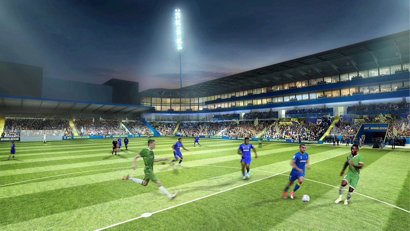 Afc Wimbledon Clears Final Legal Barrier For Move To New