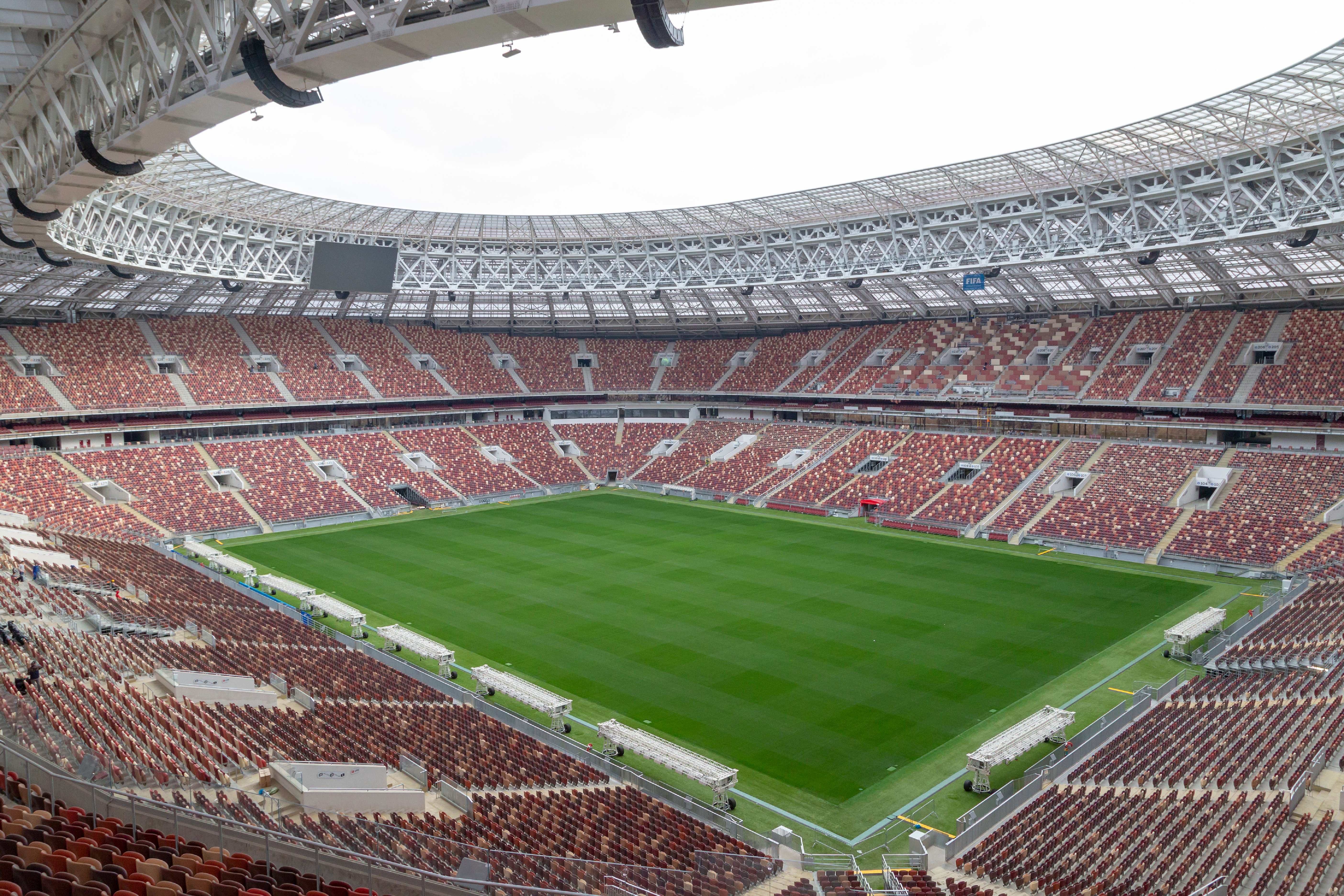Signify Has Announced That It Will Be Responsible For Lighting Up Ten Of The Twelve Host Stadiums For  Fifa World Cup Russia Luzhniki Stadium Moscow