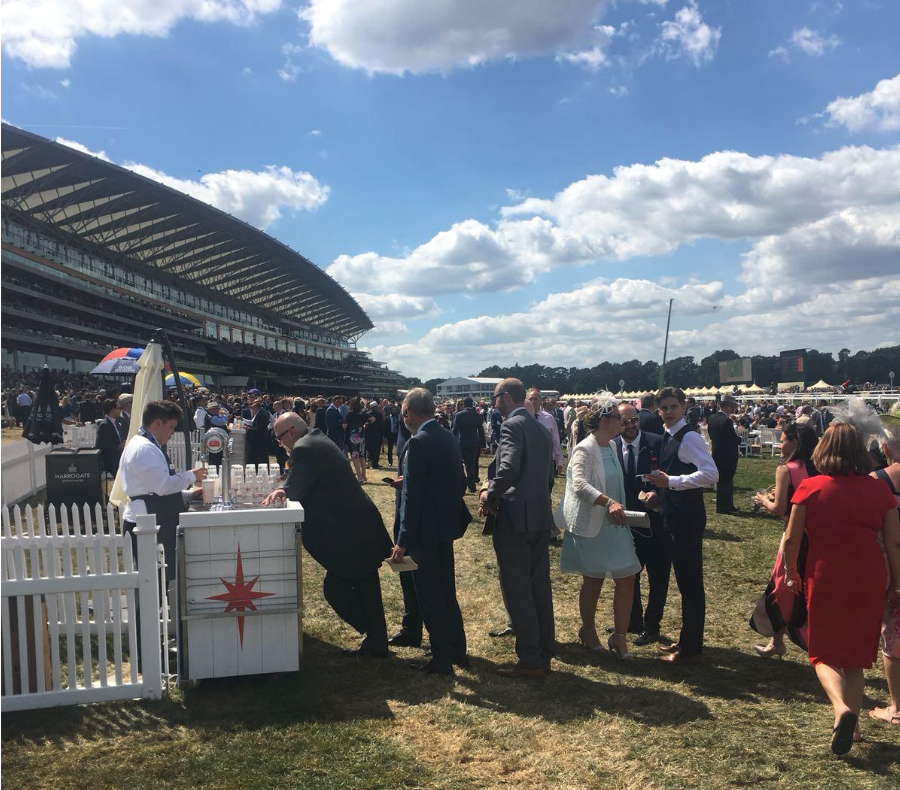 Mobile payments take off at Royal Ascot - Sports Venue