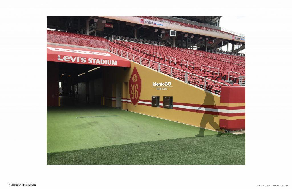 San Francisco 49ers introduce IdentoGO by IDEMIA Green Room