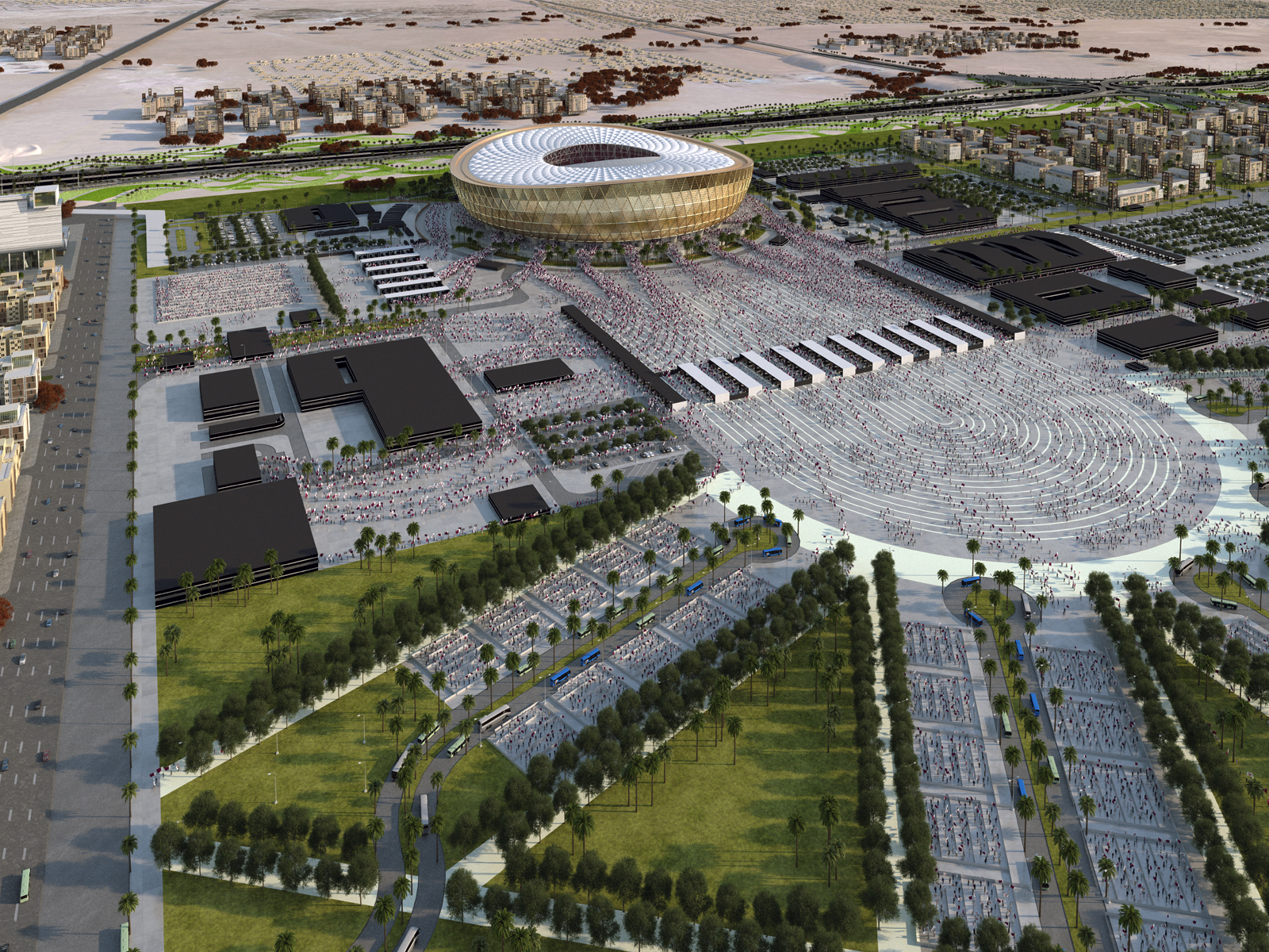 Afl Architects Delivering Lusail Stadium For The 2022 Fifa World Cup