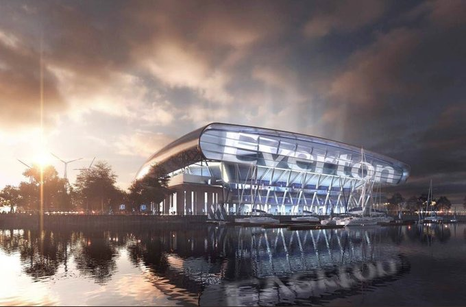 Everton FC secures overwhelming public support for new ...