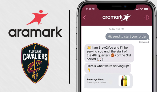 Cleveland Cavaliers and Aramark launch mobile ordering at The Q