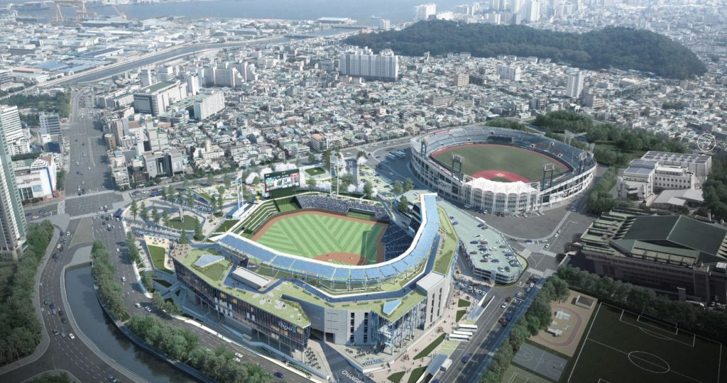 Changwon Nc Park Revolutionises Baseball Experience In
