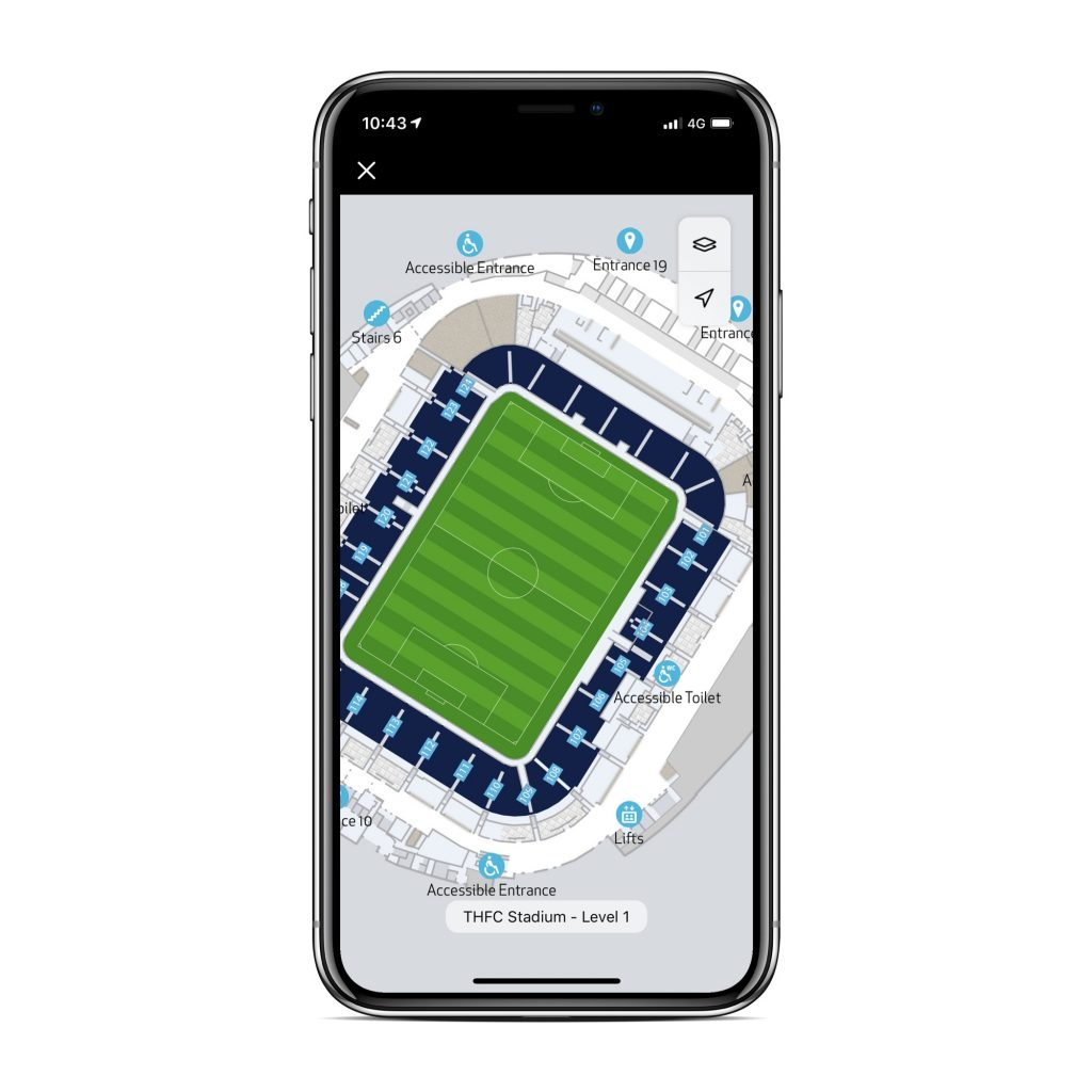 New Spurs Official App Launched Sports Venue Business Svb