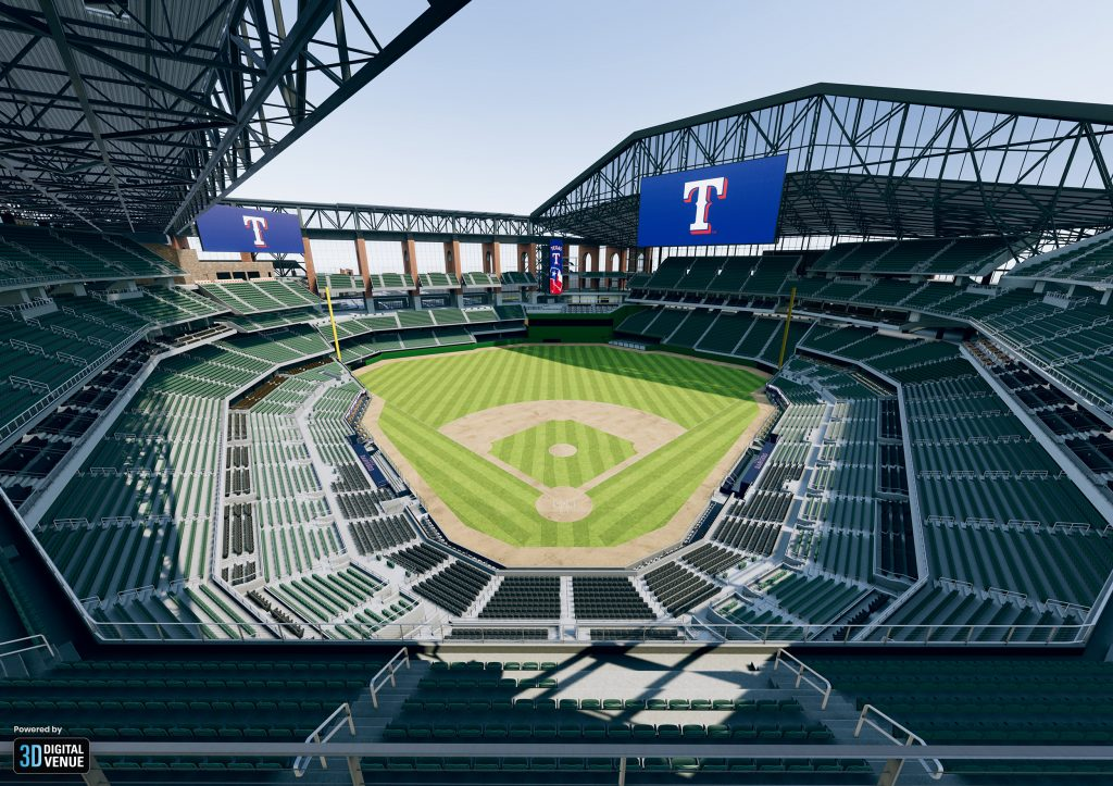 Texas Rangers Deploy 3d Virtualisation Technology To Great
