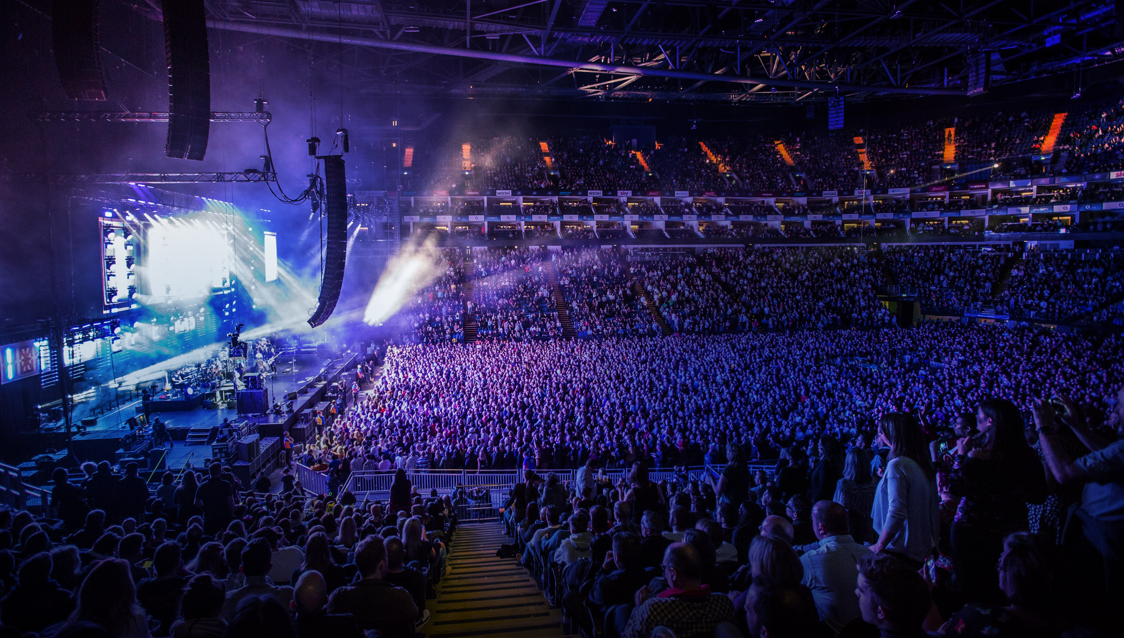 The O2 Leads The Way In Premium Experiences As It Evolves With New Brand Encore At The O2 Sports Venue Business Svb