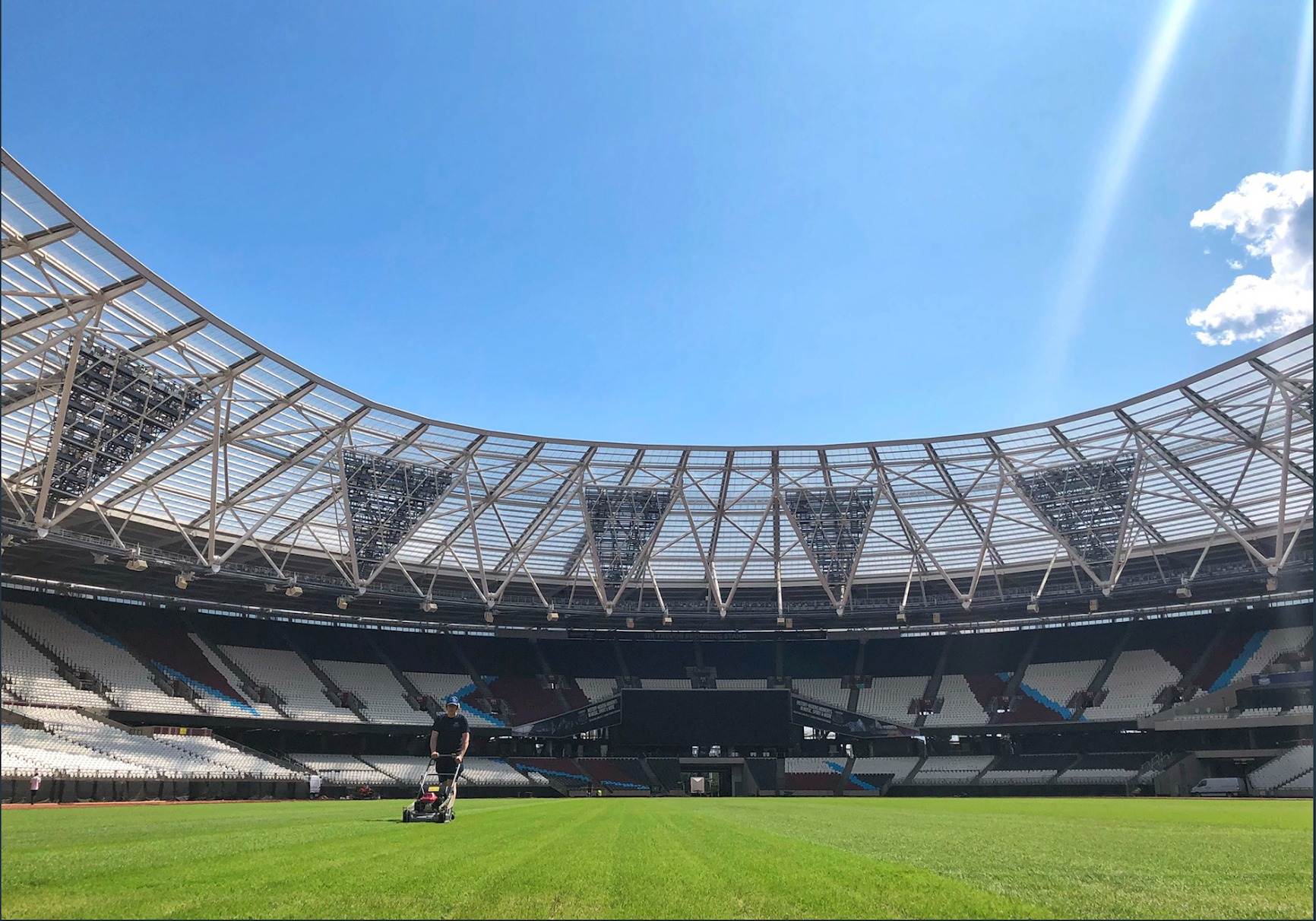 London Stadium hosts four sport and music events in packed
