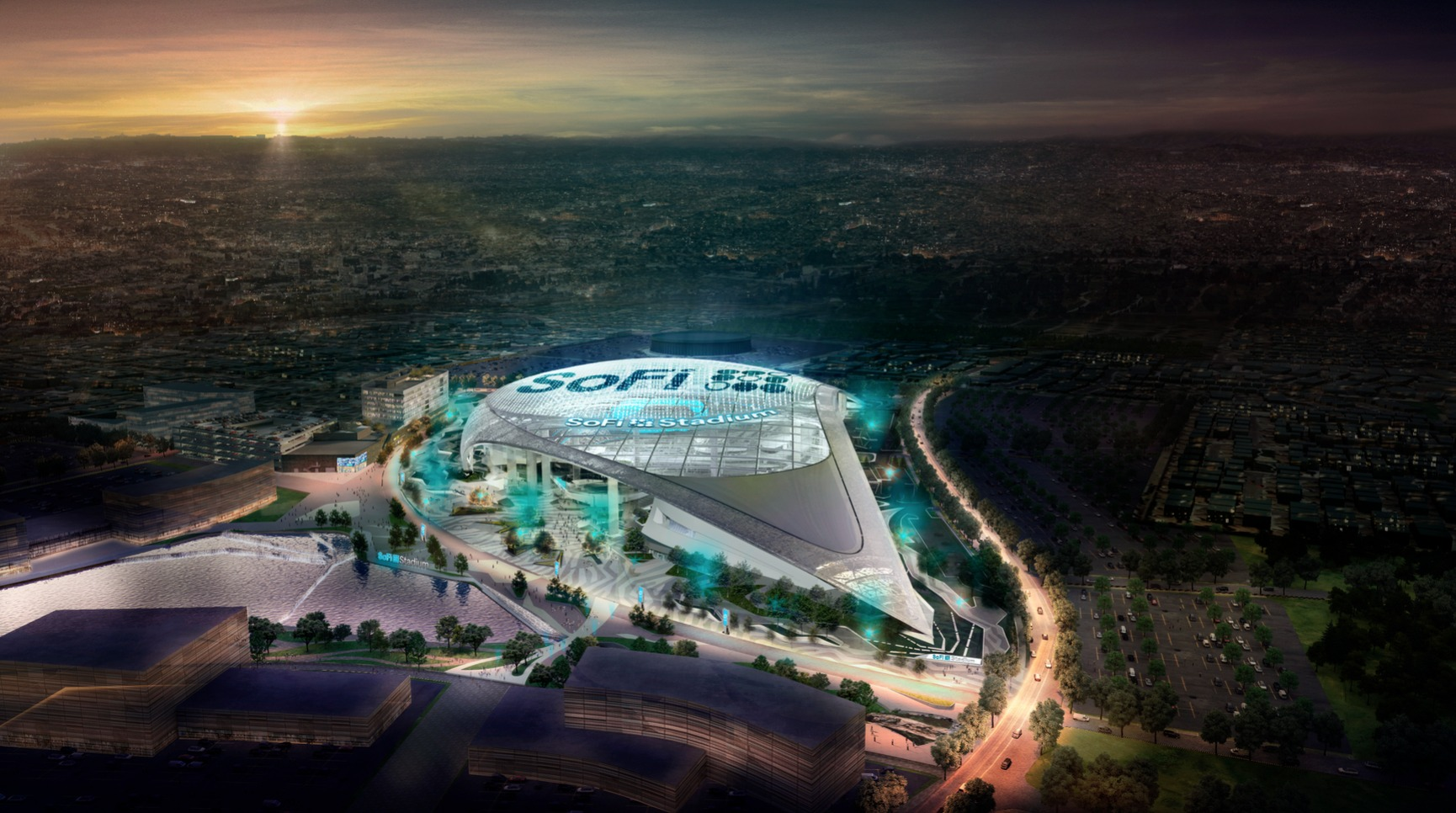 wholesale dealer 9a36d d853f New home of the LA Rams and LA Chargers officially named ...