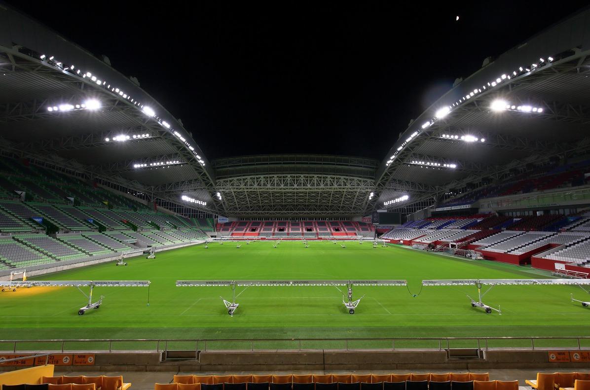 New Led Lighting In Kobe Misaki Stadium For World S