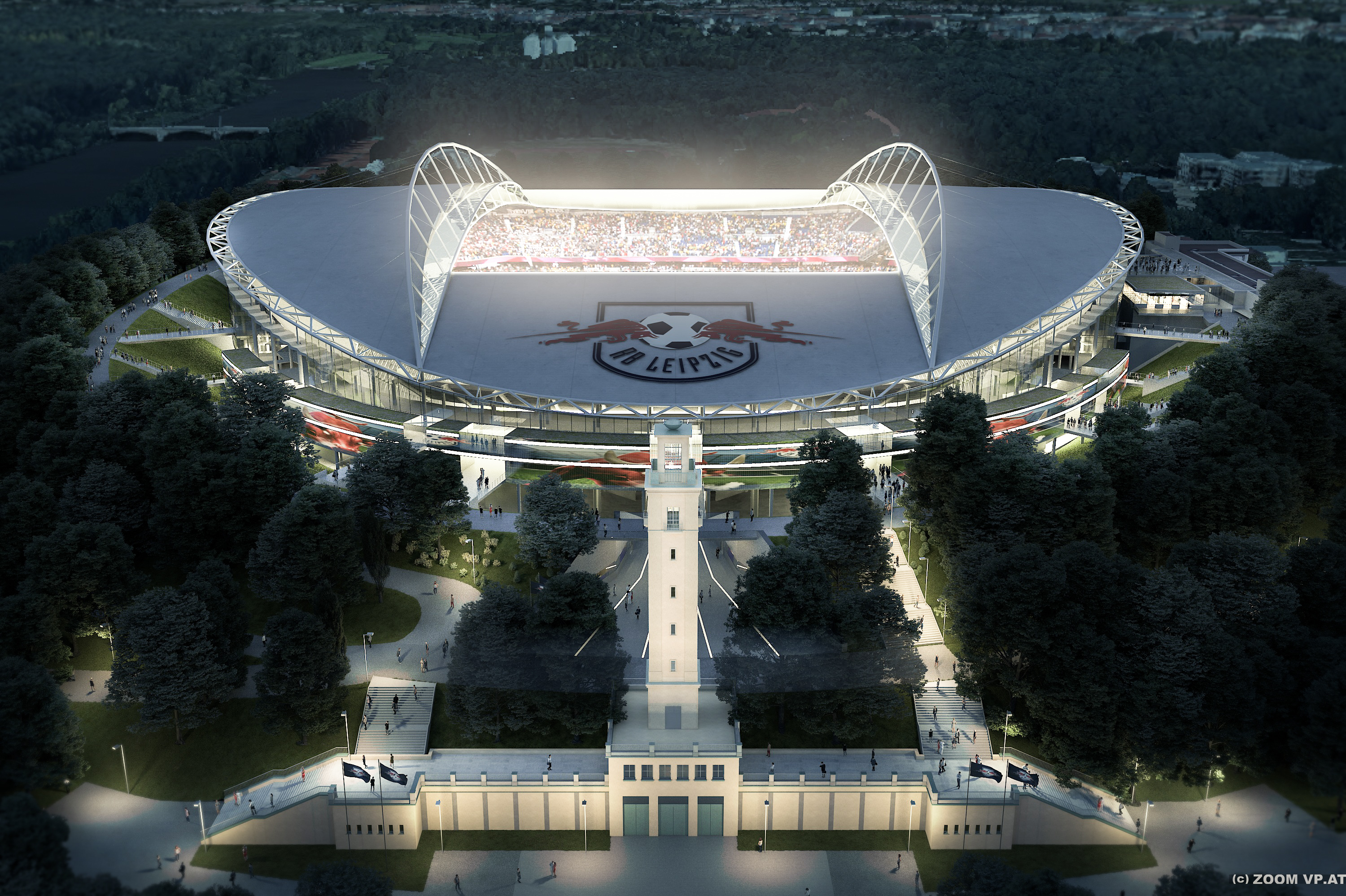 Caverion Selected To Modernise Expand Rb Leipzig S Red Bull Arena Sports Venue Business Svb
