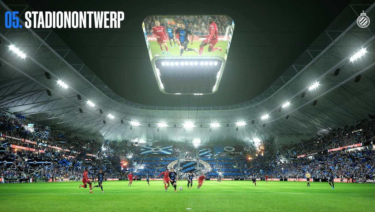 Club Brugge Unveils m New Stadium Plan Sports Venue Business SVB